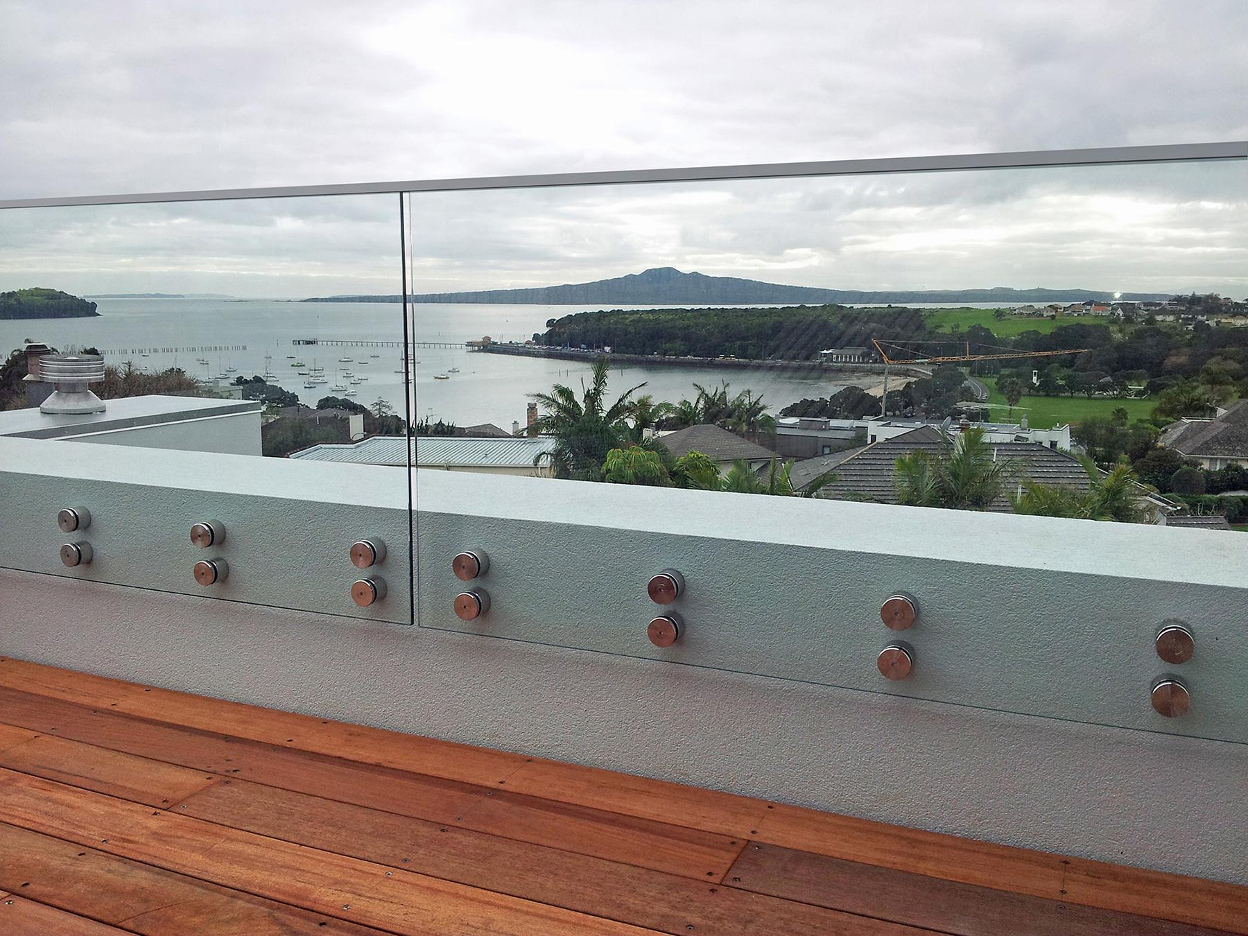 Frameless Balustrades - Juralco Balustrade Systems NZ - Juralco Balustrades - Glass or Aluminium